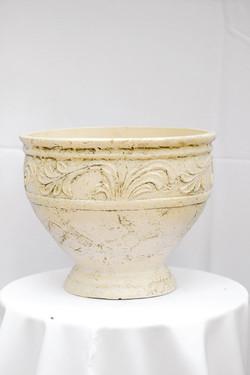 Large Short Ivory Urn