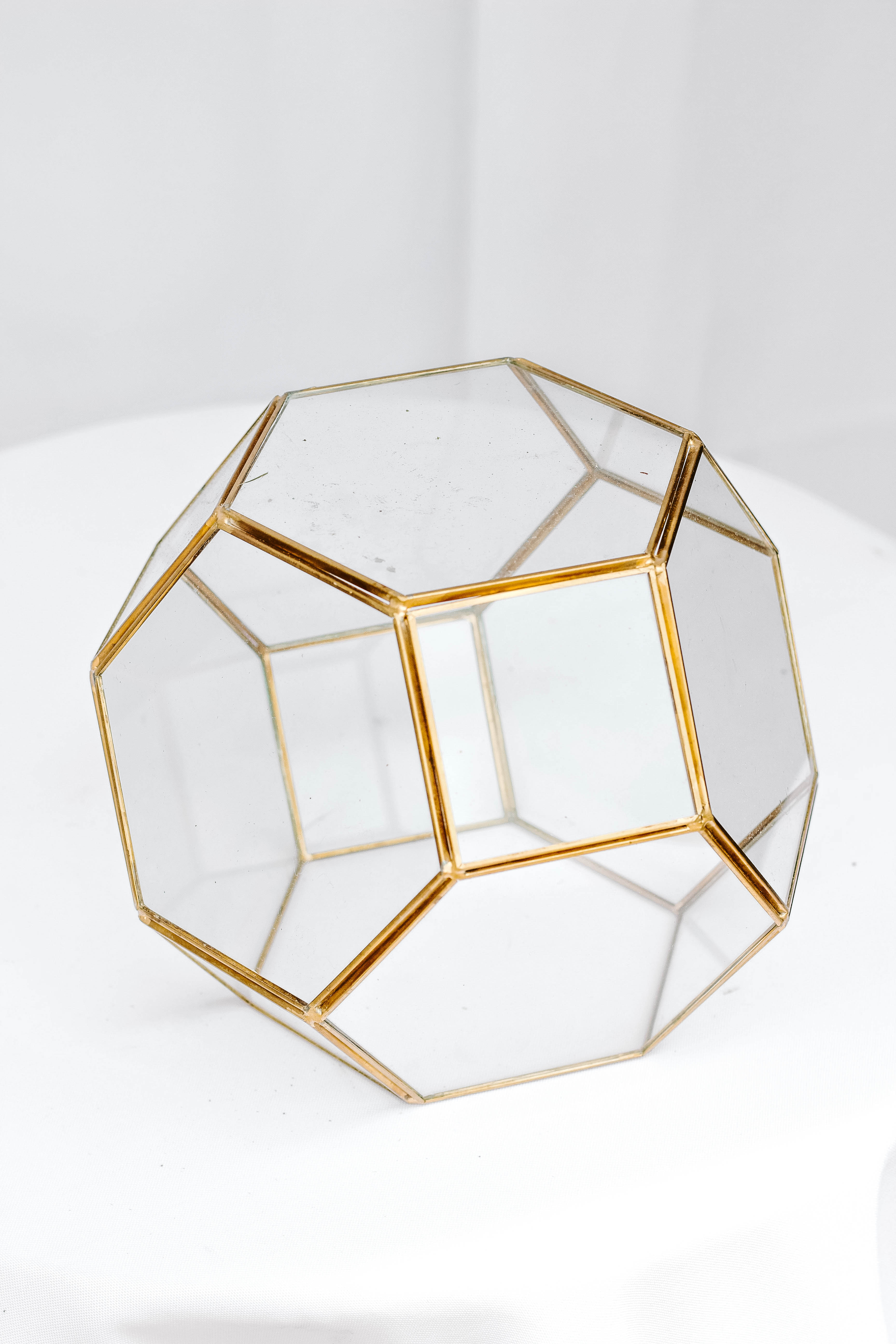 Octagon Glass Dome