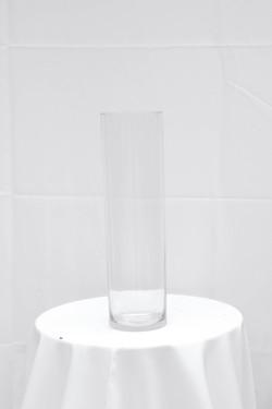 Jumbo Clear Cylinder Vase