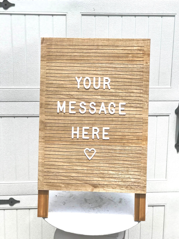 Custom Letter Board