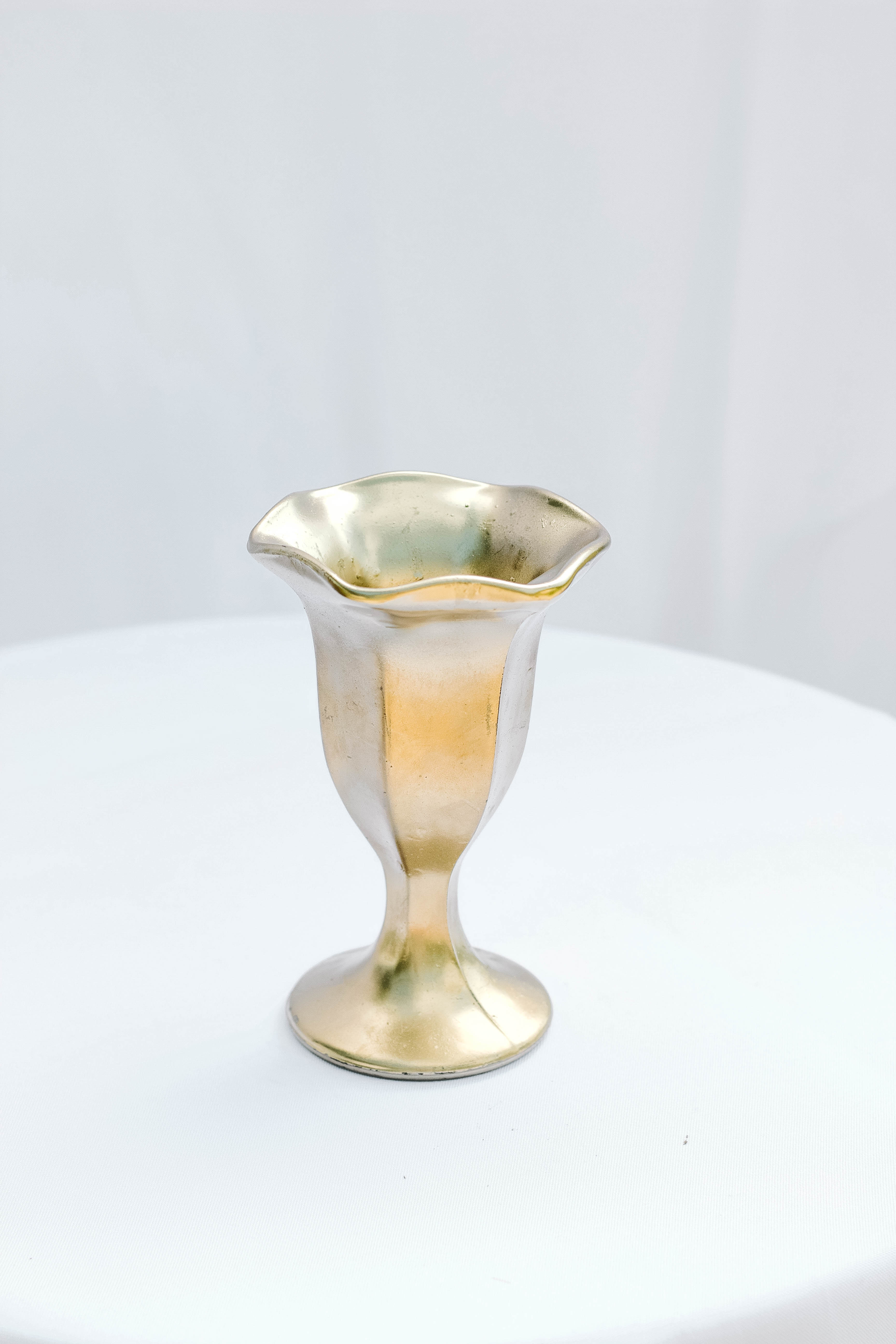 Gold Flower Top Compote