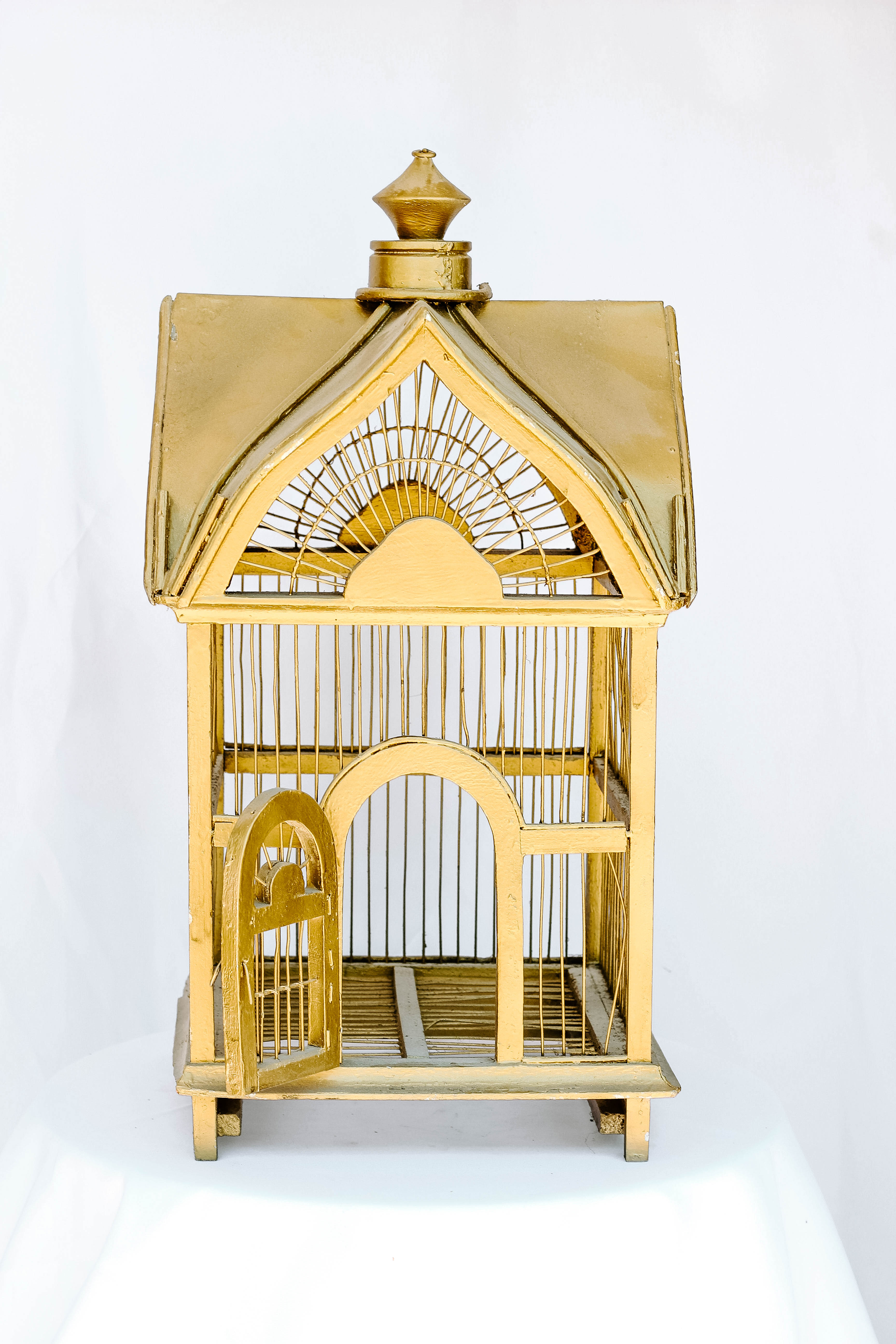 Square Bird Cage Card Holder