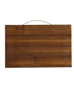 FOR SALE: Custom Rustic Wooden Board With Writing