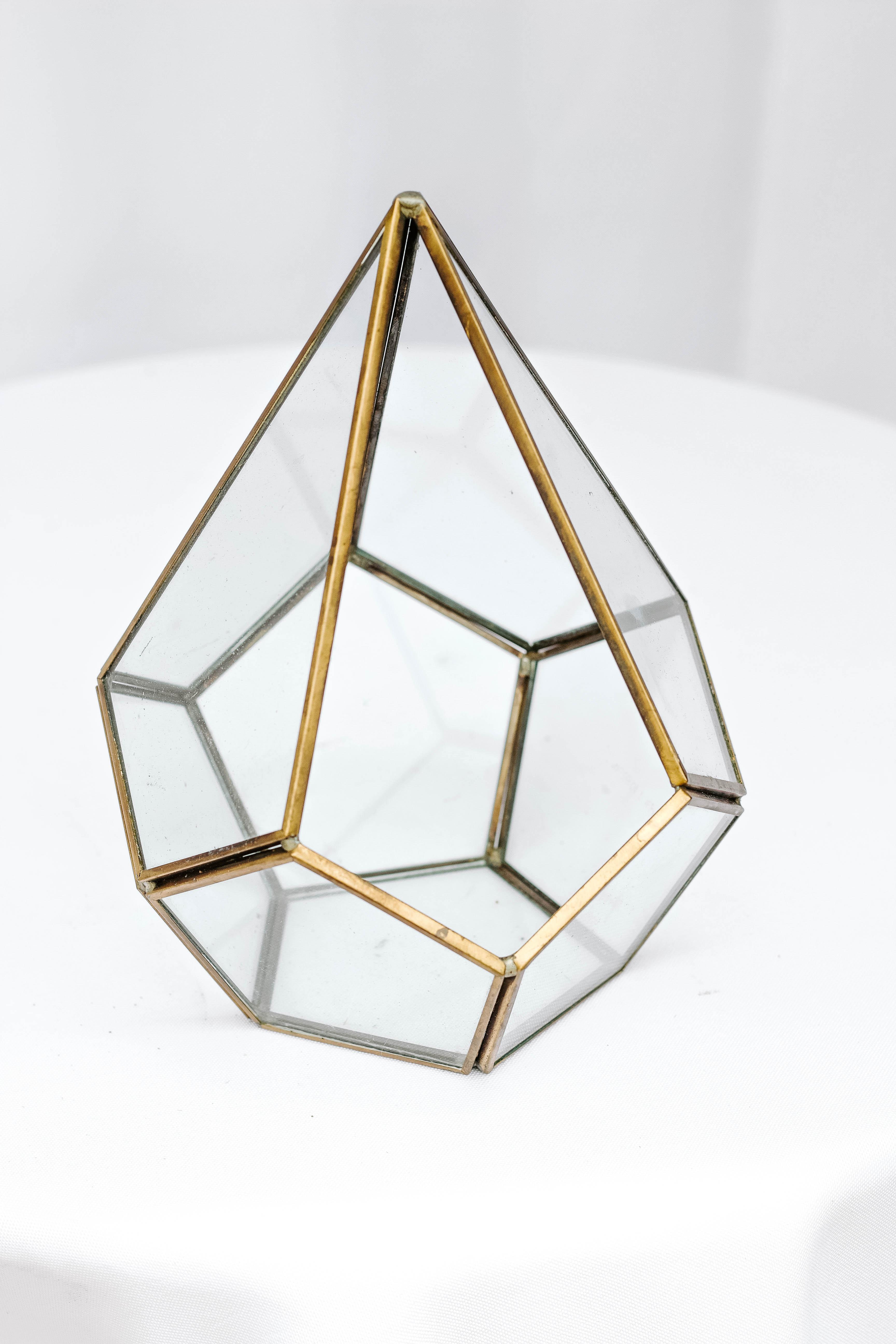 Teardrop Glass Dome