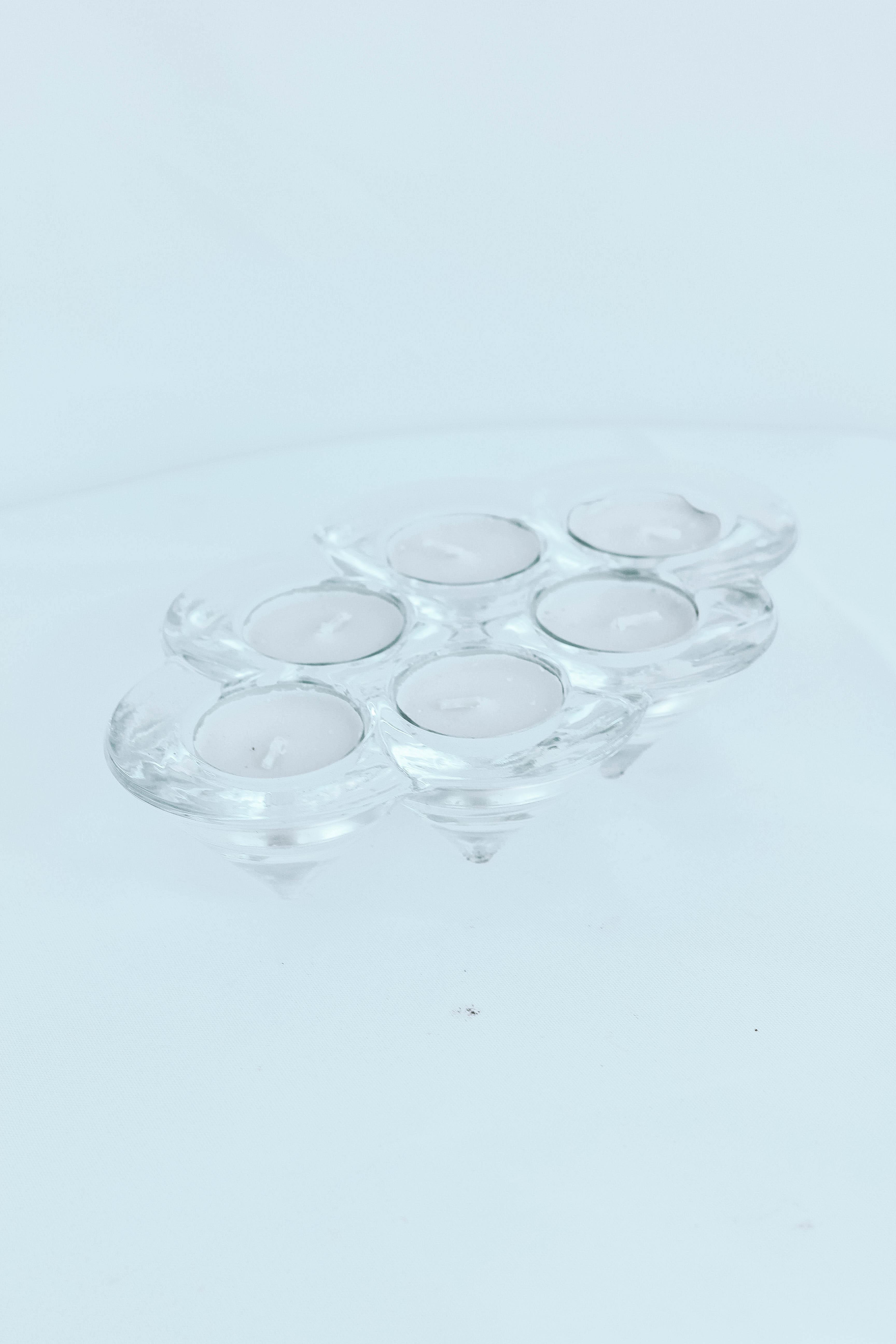 6 Clear Crystal