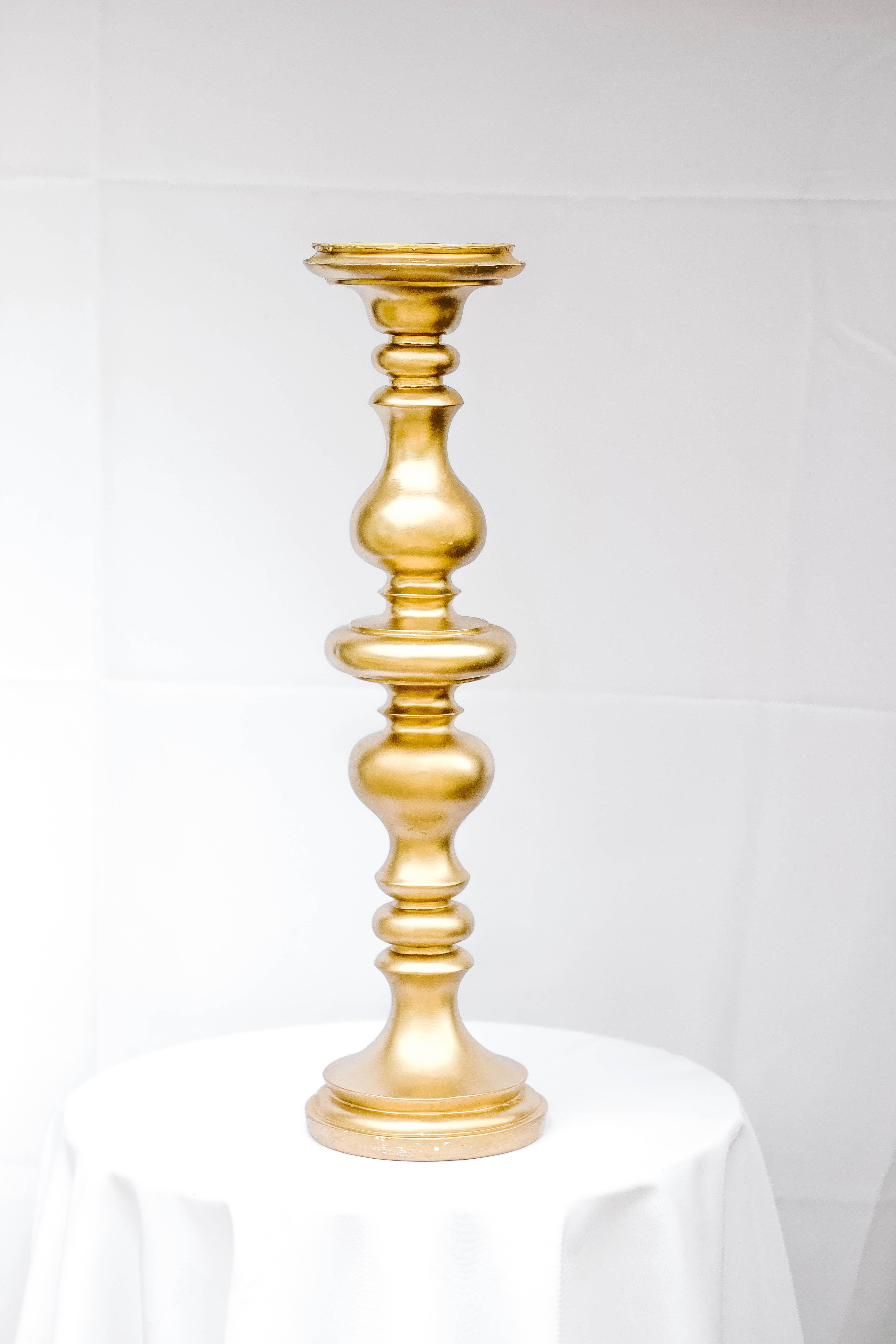 Gold Platform Pedestal