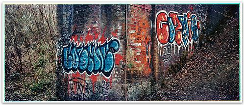 """7x17"""" ULF Graffiti Trichrome"""