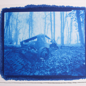 I tried some Cyanotype (and I liked it)...