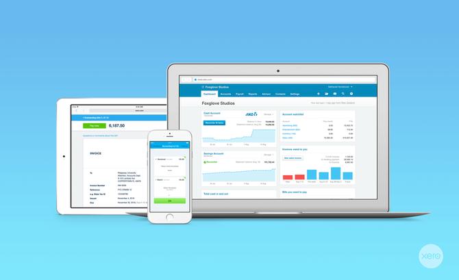 Xero -新西兰中小企业财务管理的利器