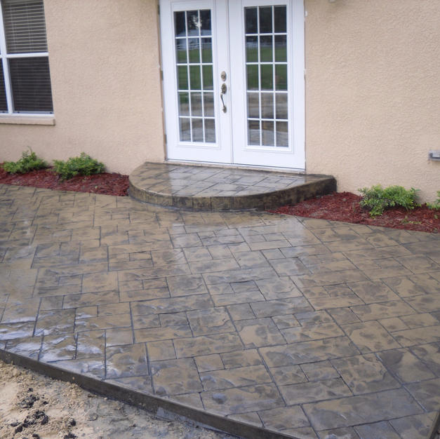 Ashlar Slate Stamp Pattern - Plant City, FL