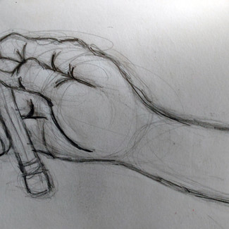 """""""Hand Drawing"""" 8.5x11 in."""