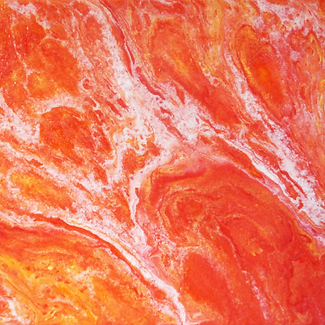 """Sunset Burst"" | 8X10 in. | Acrylic on Canvas"