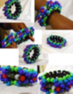 Kandi Cuff Bracelet 3d