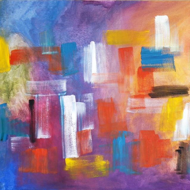 """Interceding""   24x48 in   Oil on Canvas"