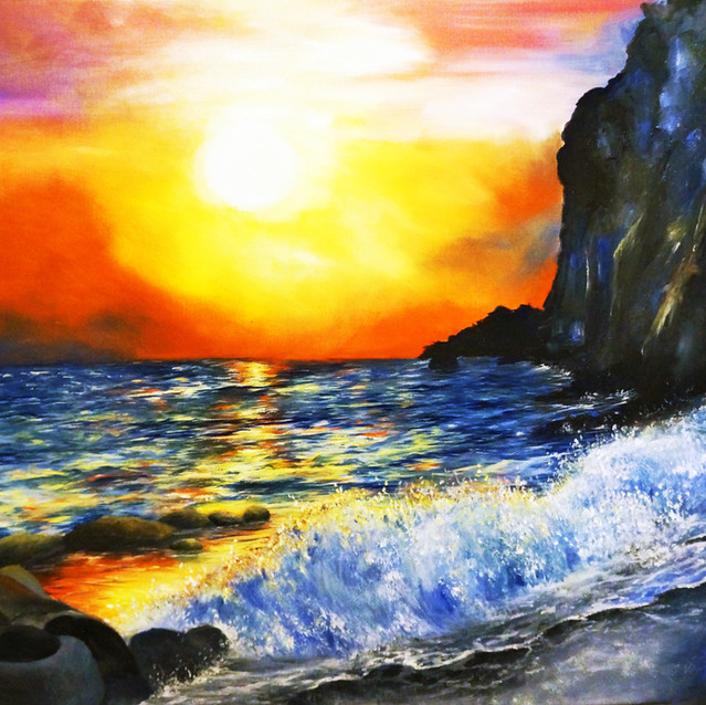 """""""Tranquility""""   18X24 in.   Oil on Canvas"""