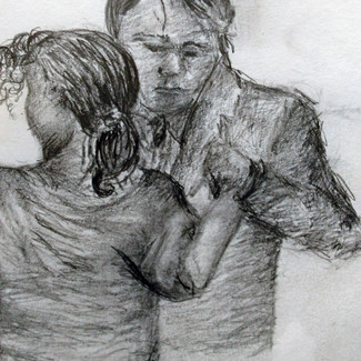 """""""The Dance"""" 8.5x11 in."""