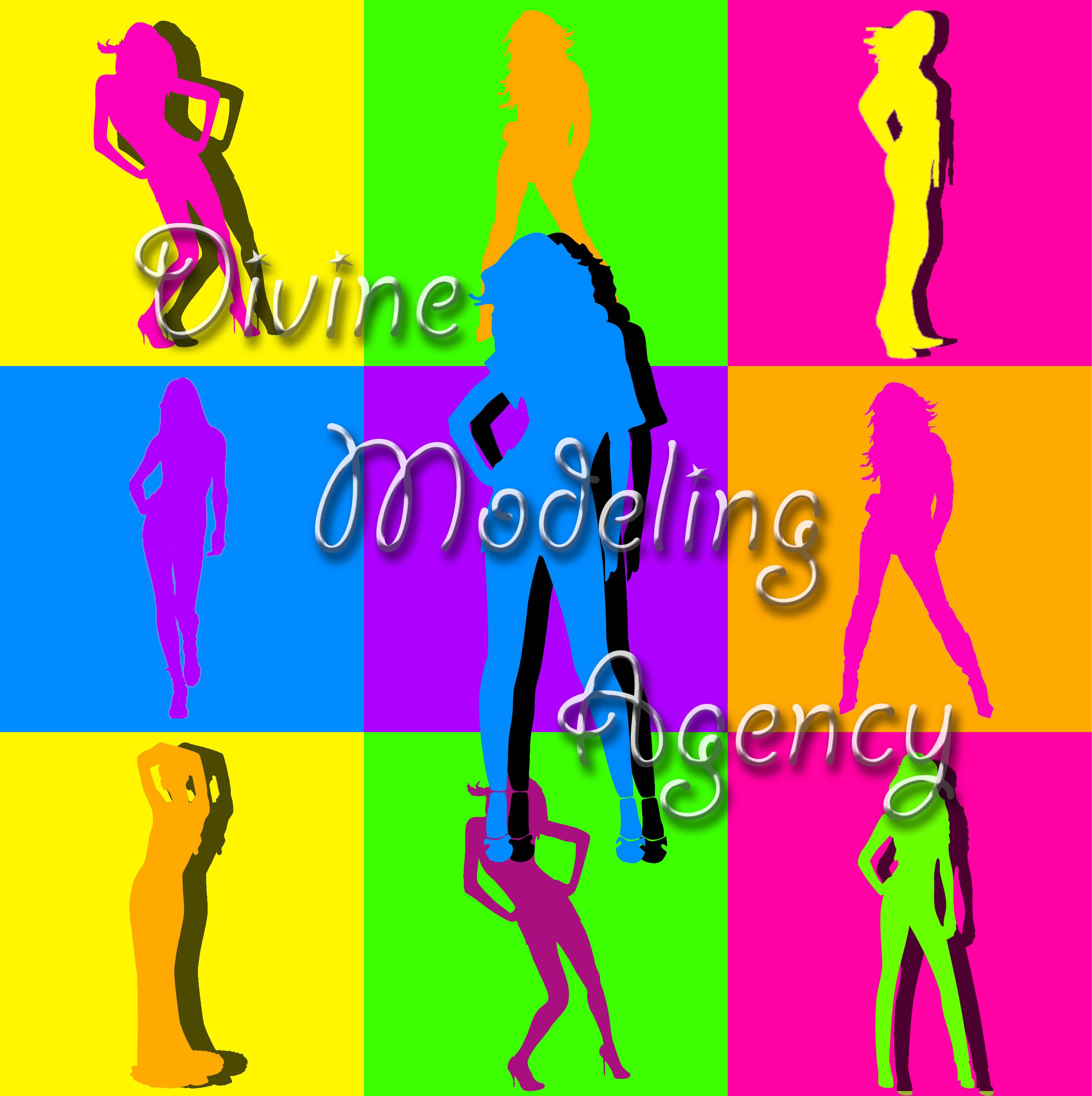 modeling agency logo