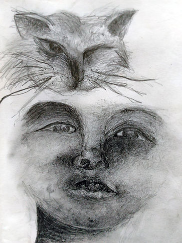 Face drawing study