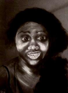 """Self Portrait"" 8.5x11 in."