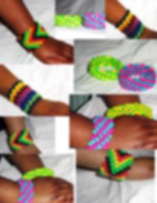 Rasta Cuff Kandi Bracelet