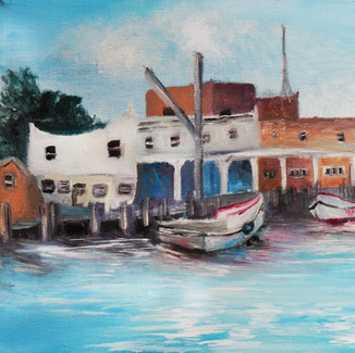 """""""Dock on The Chesapeake"""" 