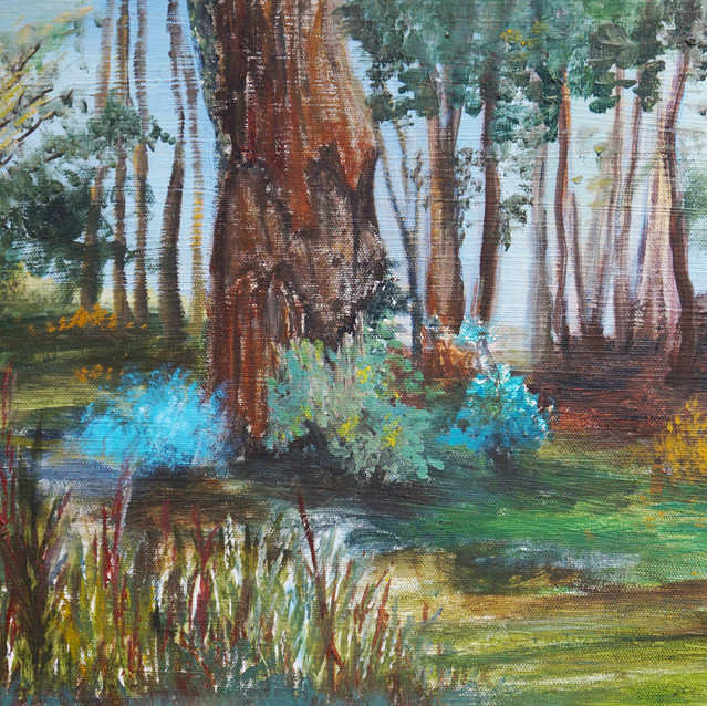 """""""Finding My Way""""   12X24 in.   Oil on Canvas"""