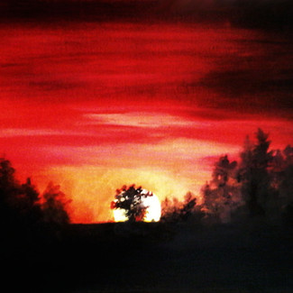 """""""Red Sunset"""" 