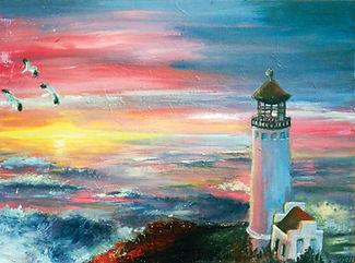 greece oil landscape painting