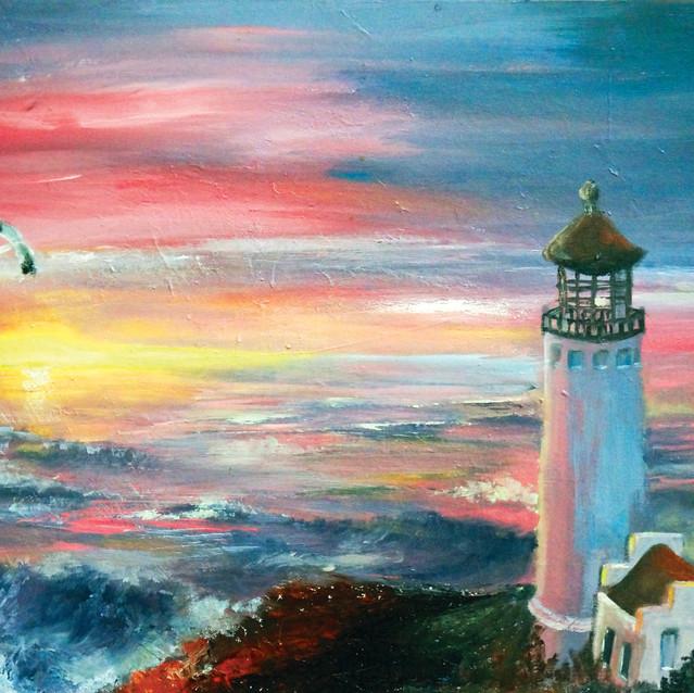 """Journey in Greece""   18X24 in.   Oil on Canvas"