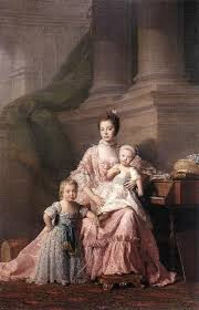 Formal Analysis: Queen Charlotte With Prince George and Prince Frederick