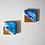 etsy fluid acrylic painting abstract art sand ocean beach waves shells small painting mini painting interior art wall art