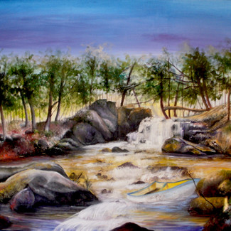 """""""Movement of the Stream"""" 