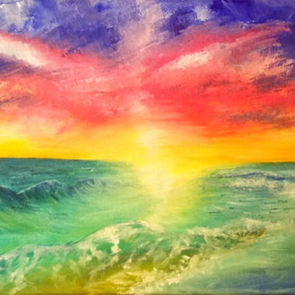 """""""Parting of the Sea"""" 