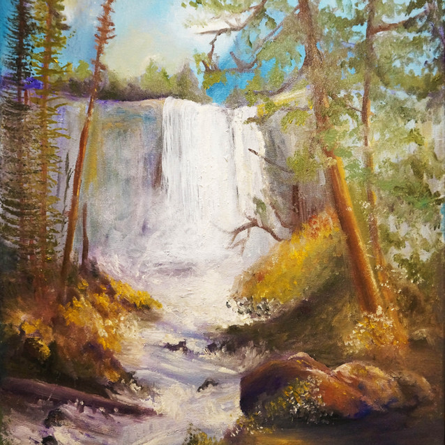"""""""Movement of the River""""   16X20 in.   Oil on Canvas"""