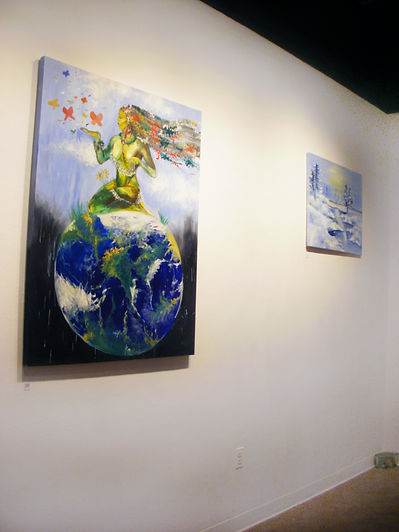 mother nature and landscape painting exhibition
