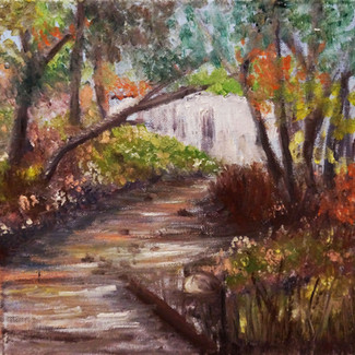 """Hidden Beauty"" | 10X10 in. | Oil on Canvas"