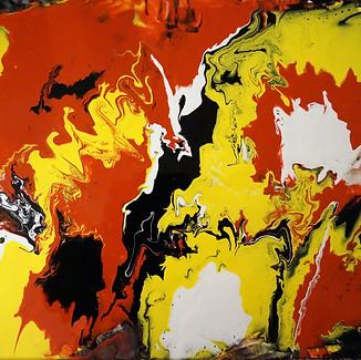 """Stimulance"" | 16x20 in. | Acrylic on Canvas"