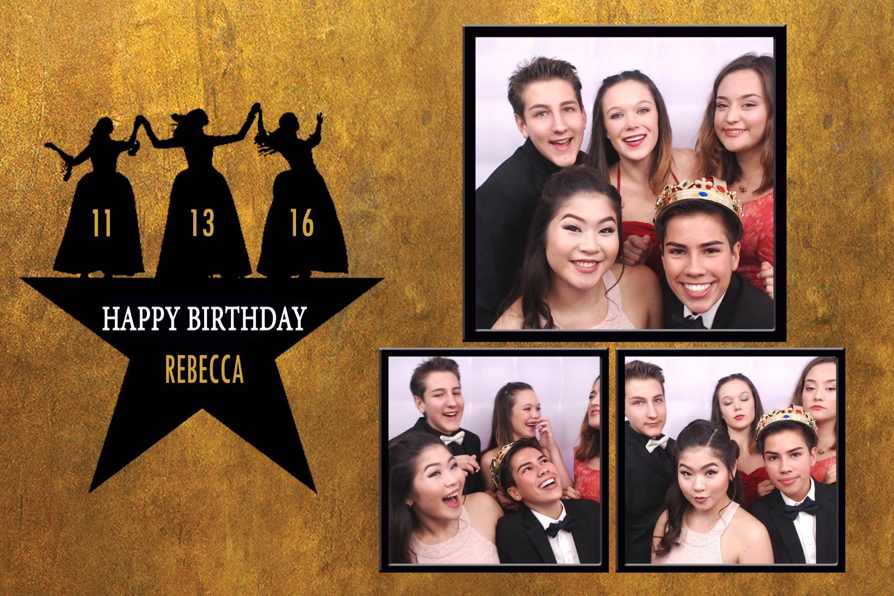 Rebecca's Birthday Party