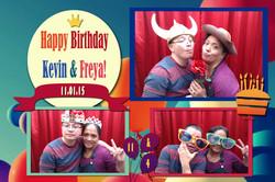Kevin & Freya Birthday