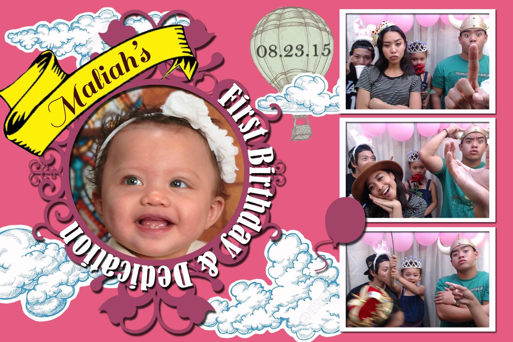 Maliah's Birthday