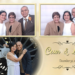 Cesar and Leony's Golden Anniversary