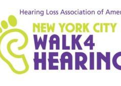 NYC Walk4Hearing Sep. 24, 2017, in Riverside Park