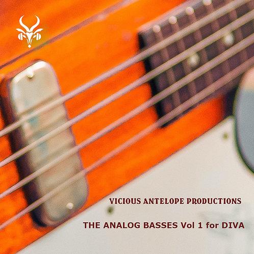The Analog Basses Vol.1 for DIVA