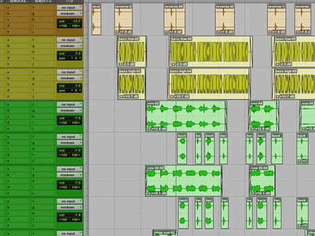 Mixing first 2020 project