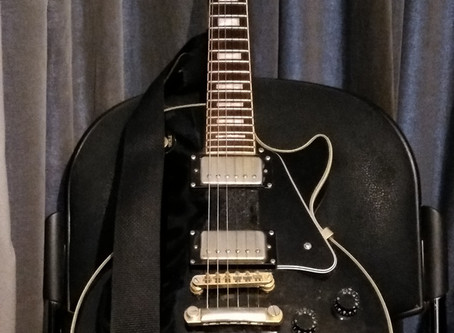 Les Paul is waiting its turn
