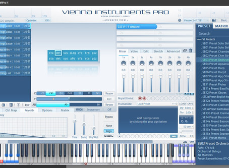 Working on a symphonic project