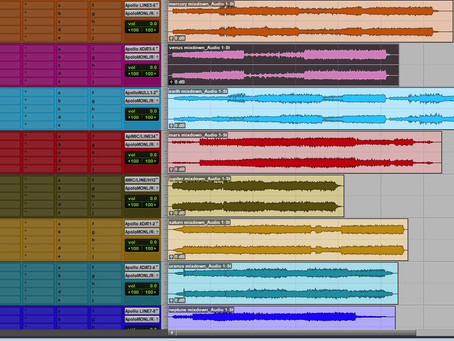 "Mastering sessions for ""Planets"""