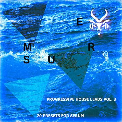 Progressive House Leads - Serum Vol.3