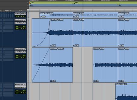 Timbre Of Saturn in studio