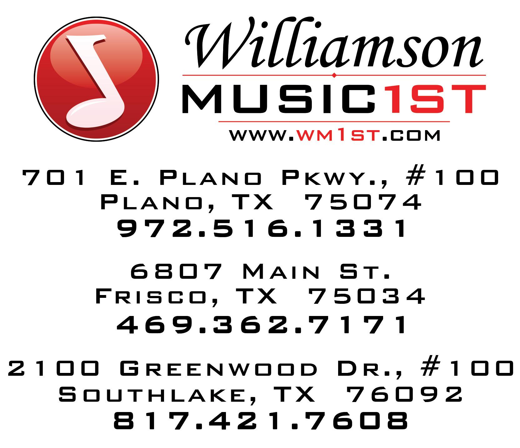Williamson Music First Logo